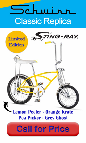 Schwinn Sting-Ray Replicas